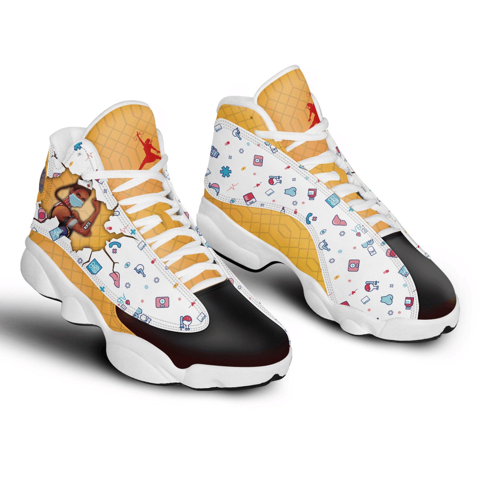 Nurse Wcdi Shuri Marvel Air Jordan Shoes