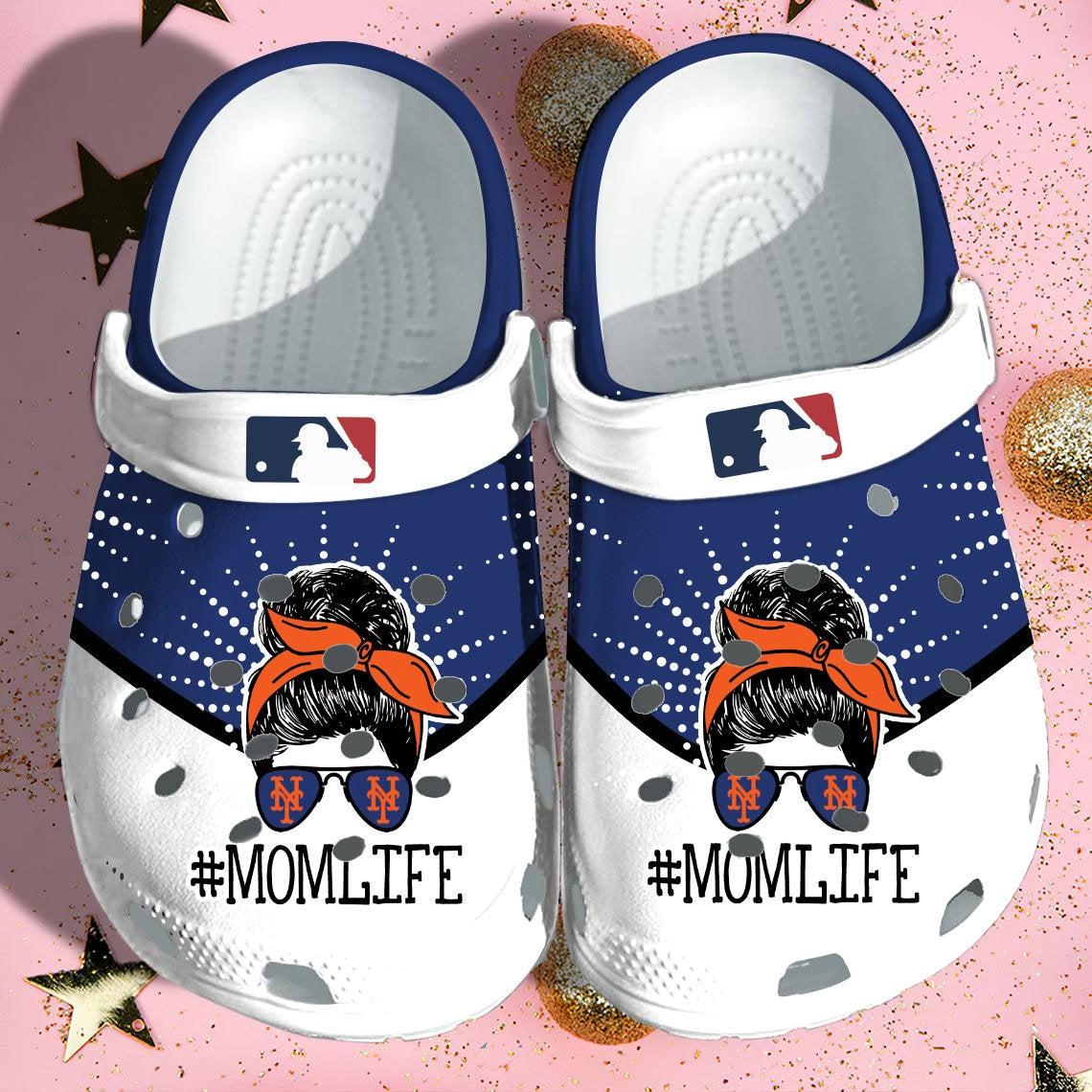 Ny Mets Yankee Crocs Clog Shoes