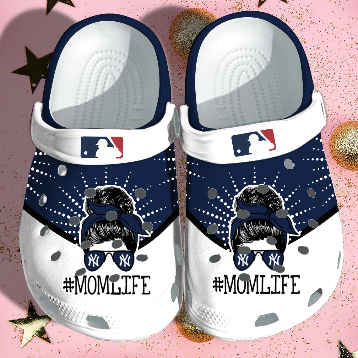 Ny Yankees Crocs Clog Shoes