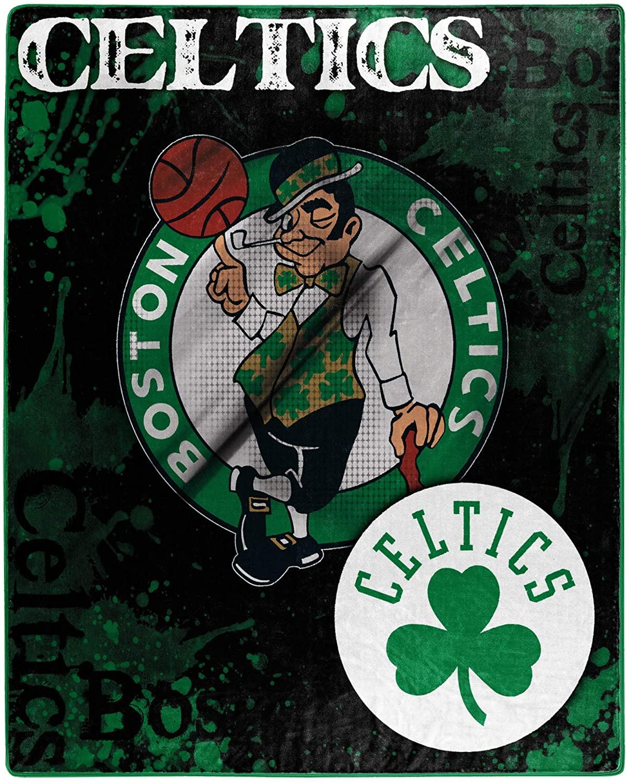 Officially Licensed Nba Throw Boston Celtics Fleece Blanket