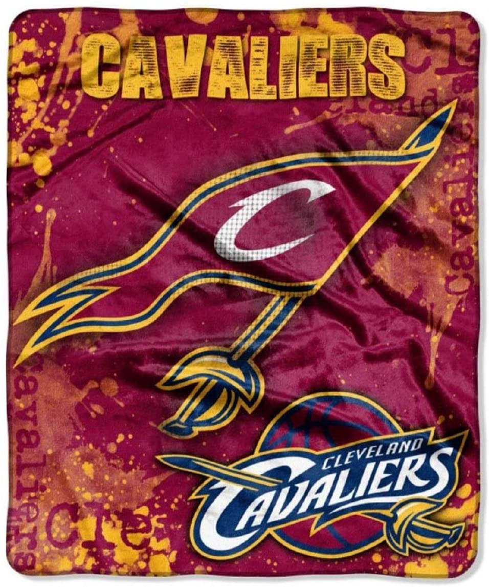 Officially Licensed Nba Throw Cleveland Cavaliers Fleece Blanket