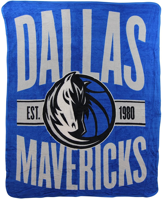 Officially Licensed Nba Throw Dallas Mavericks Fleece Blanket