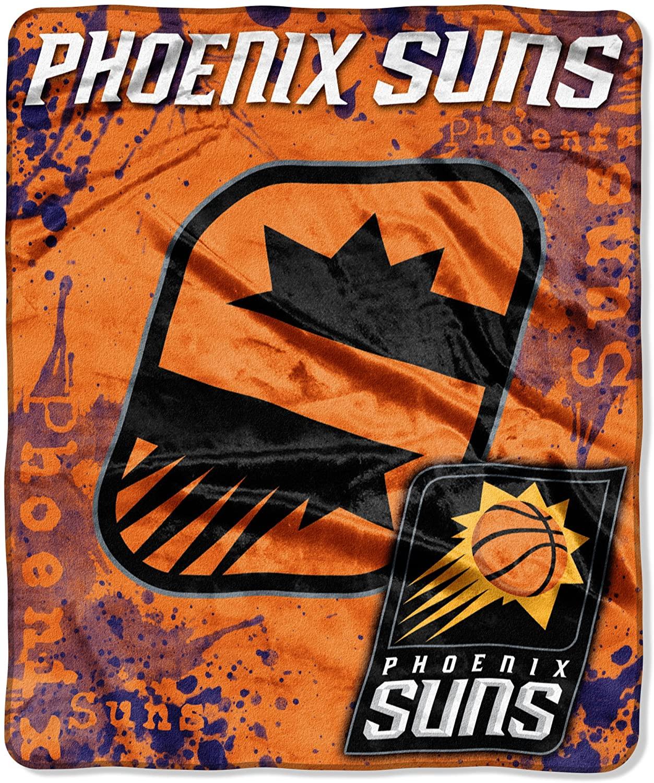 Officially Licensed Nba Throw Phoenix Suns Fleece Blanket