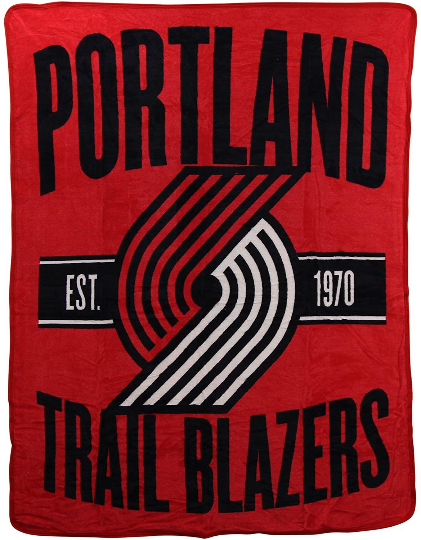 Officially Licensed Nba Throw Portland Trail Blazers Fleece Blanket