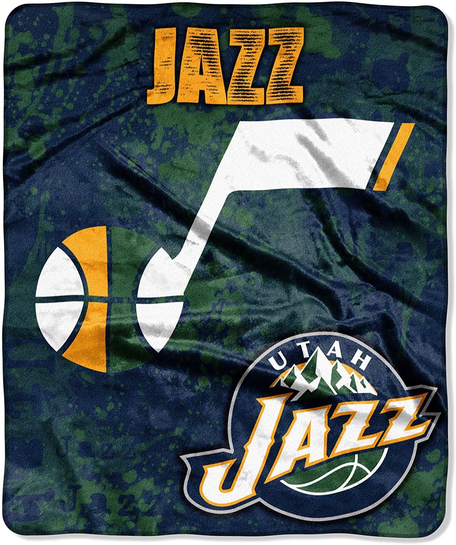 Officially Licensed Nba Throw Utah Jazz Fleece Blanket