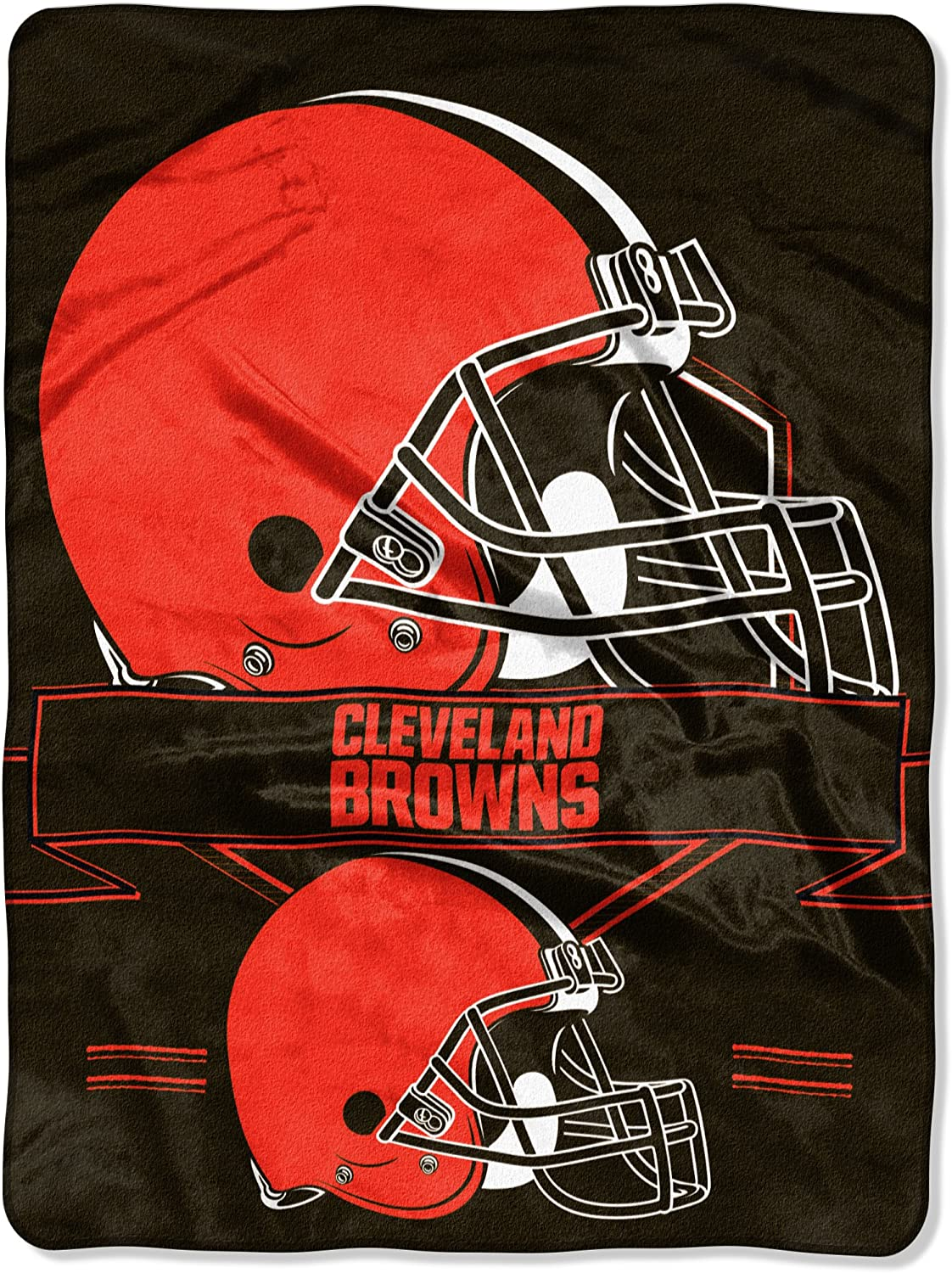 Officially Licensed Nfl Throw Cleveland Browns Fleece Blanket