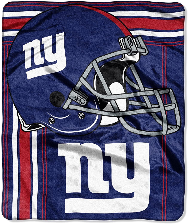 Officially Licensed Nfl Throw New York Giants Fleece Blanket