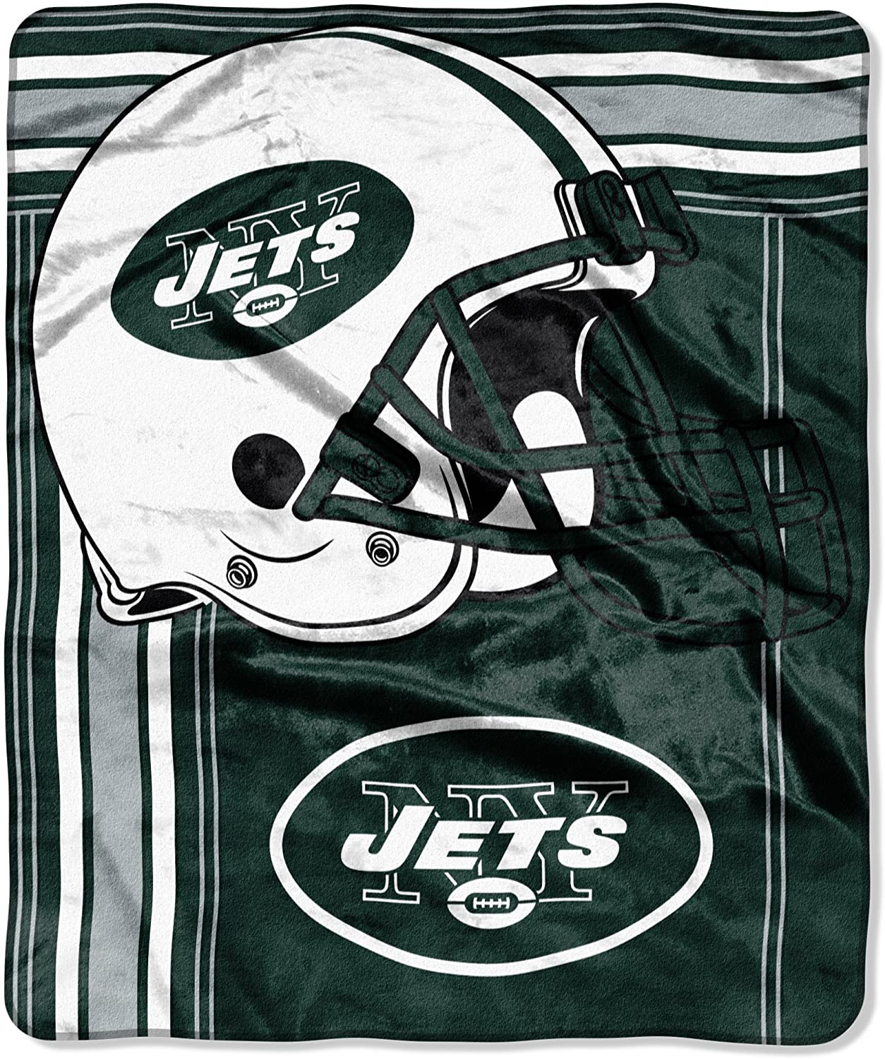 Officially Licensed Nfl Throw New York Jets Fleece Blanket