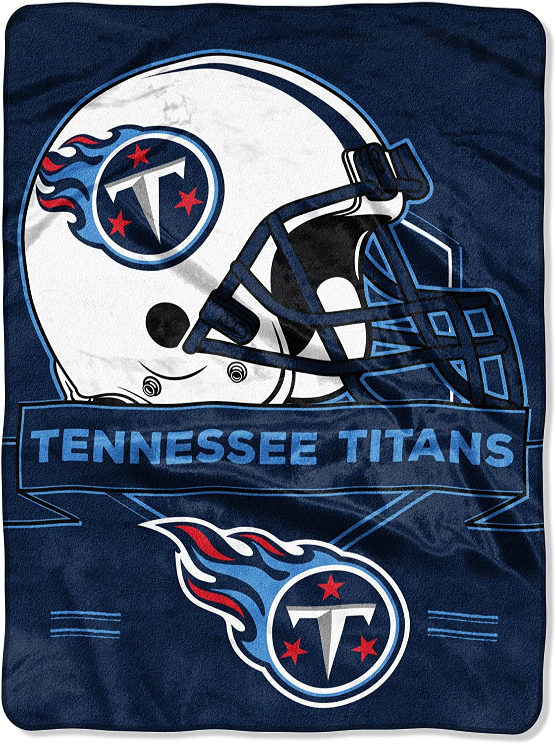 Officially Licensed Nfl Throw Tennessee Titans Fleece Blanket