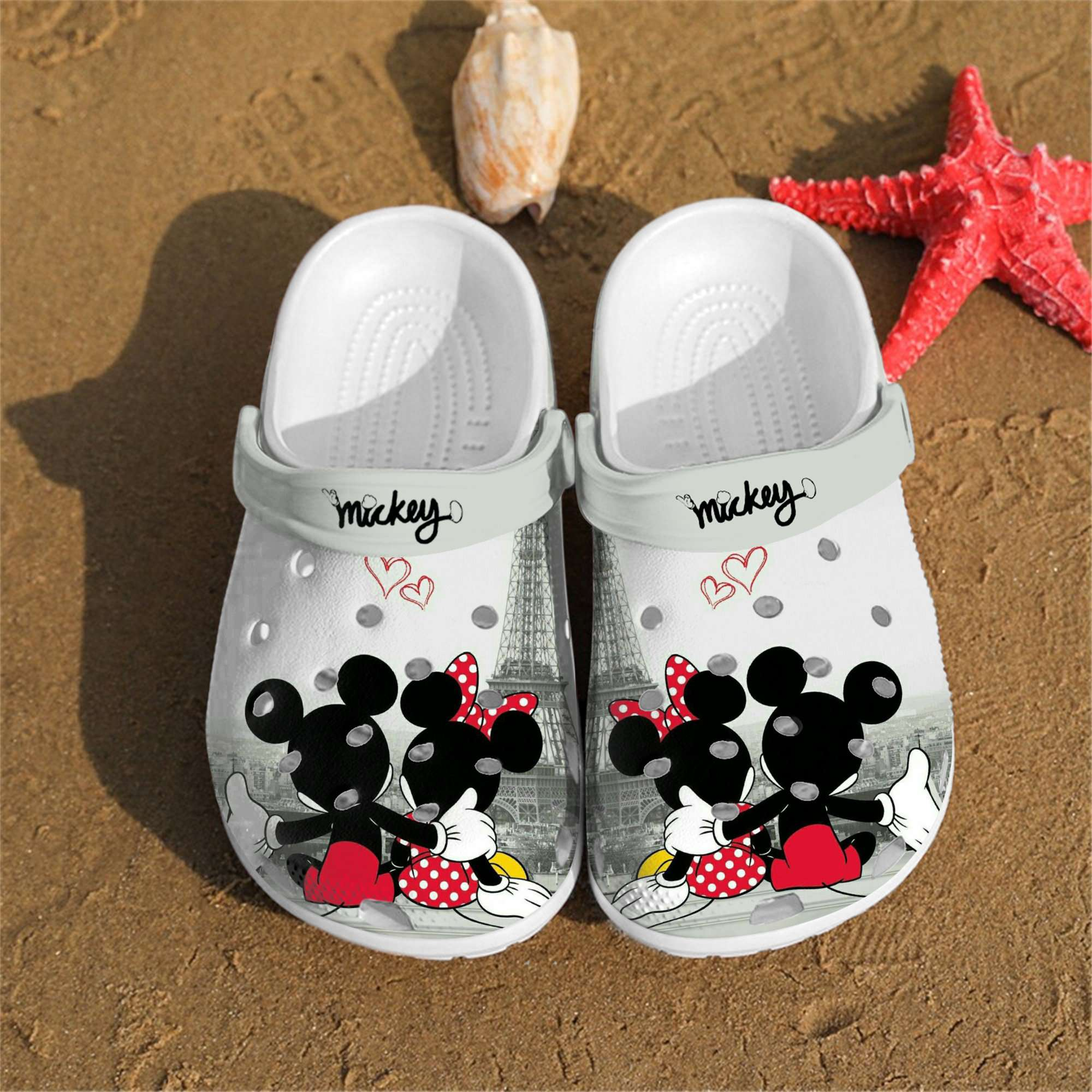 Personalized Mickey Crocs Clog Shoes