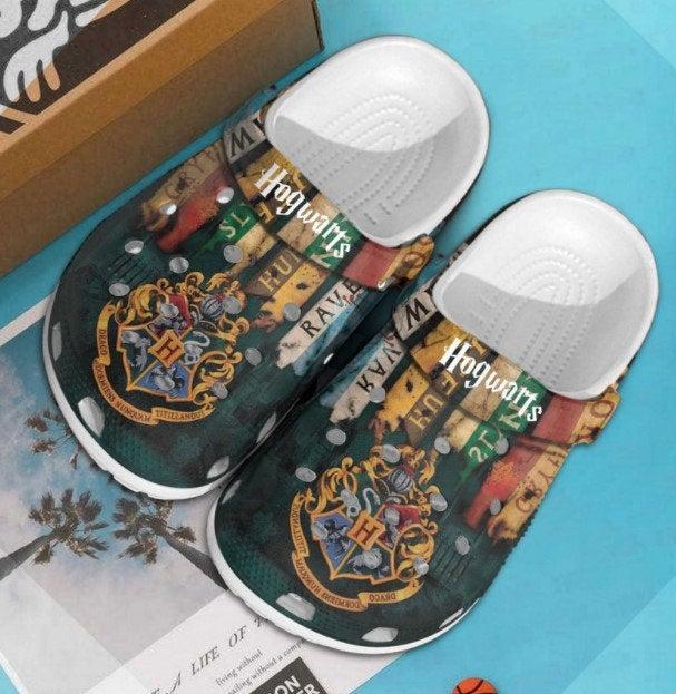 Personalized Name Hogwarts Crocs Clog Shoes