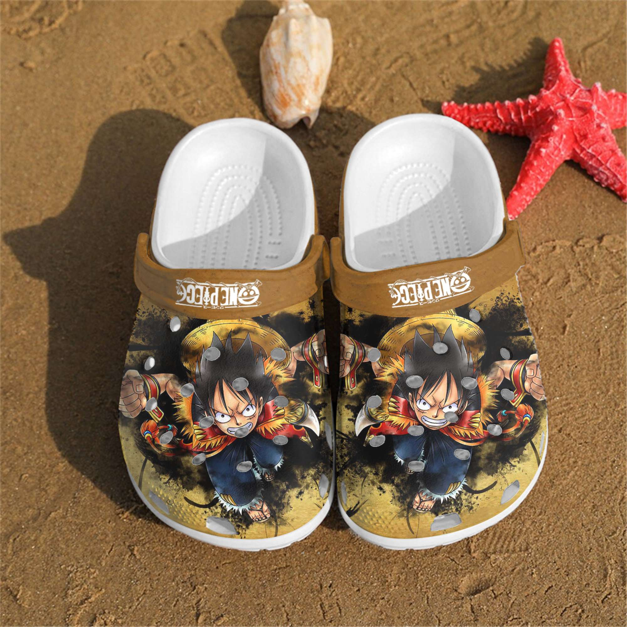 Personalized One Piece Crocs Clog Shoes