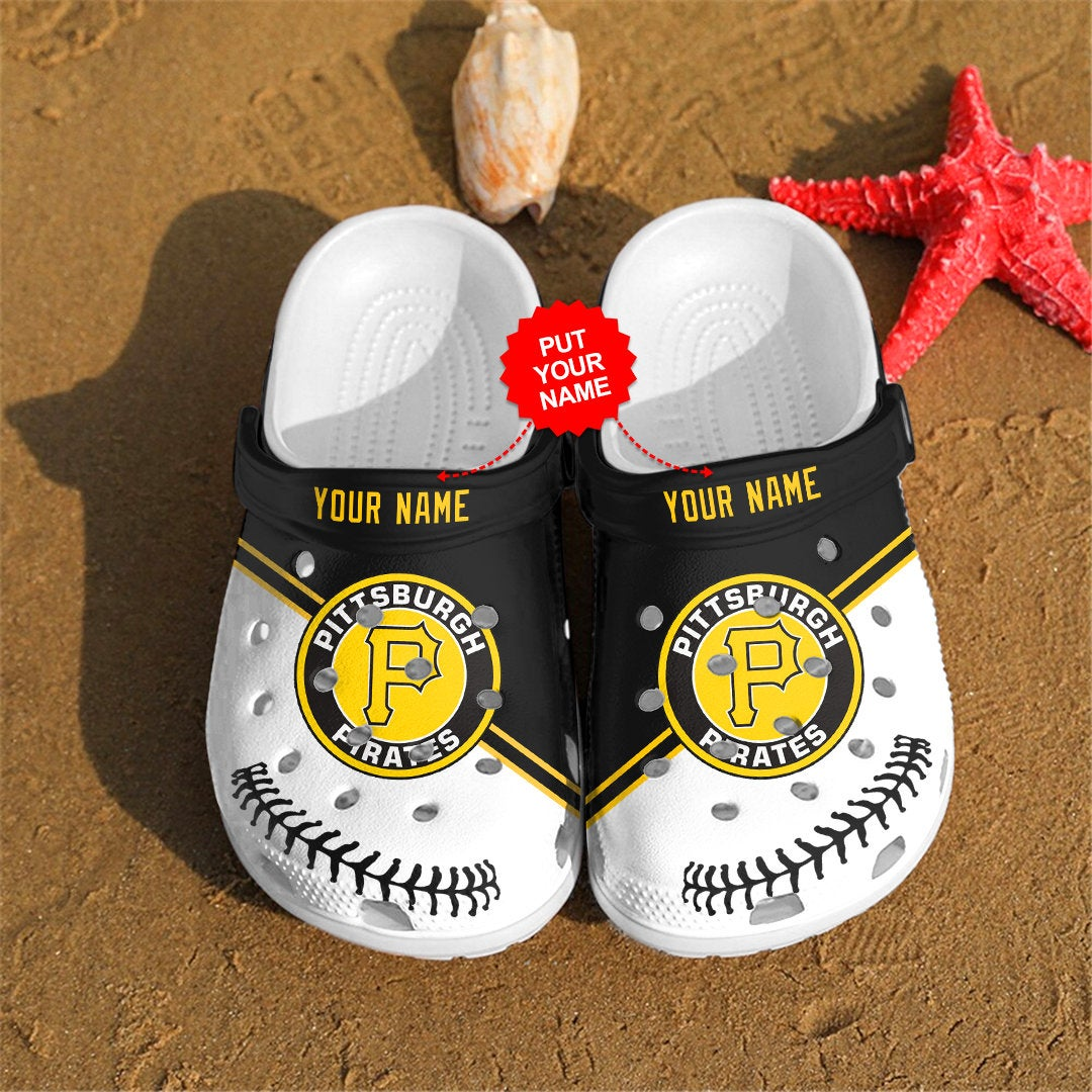 Pittsburgh Pirates Personalized For Mlb Fan Crocs Clog Shoes