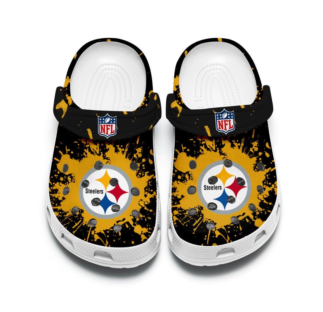 Pittsburgh Steelers Custom For Nfl Fans Crocs Clog Shoes