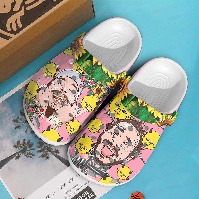 Post Malone High Quality Crocs Clog Shoes