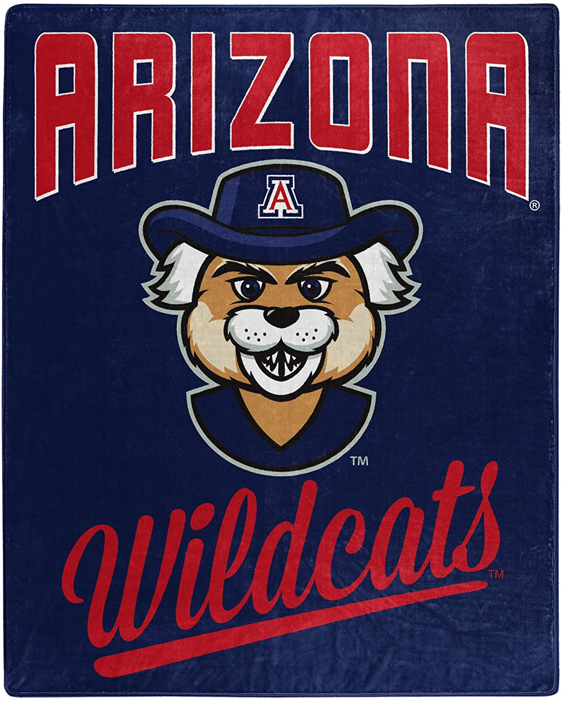 Printed Throw Arizona Wildcats Fleece Blanket