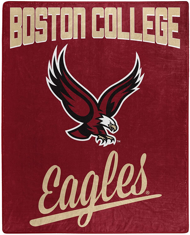 Printed Throw Boston College Eagles Fleece Blanket