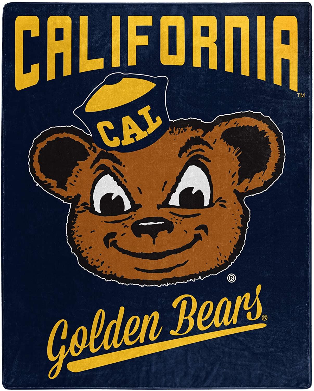 Printed Throw Cal Berkeley Golden Bears Fleece Blanket