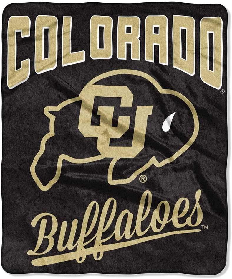 Printed Throw Colorado Buffaloes Fleece Blanket