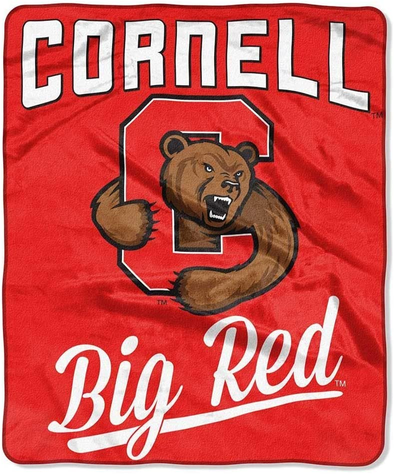 Printed Throw Cornell Big Red Fleece Blanket