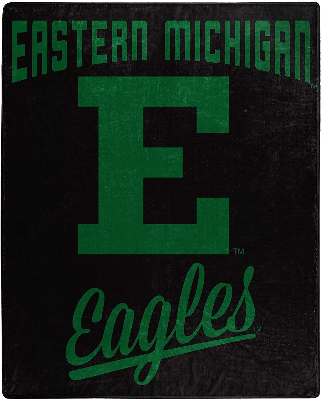 Printed Throw Eastern Michigan Eagles Fleece Blanket