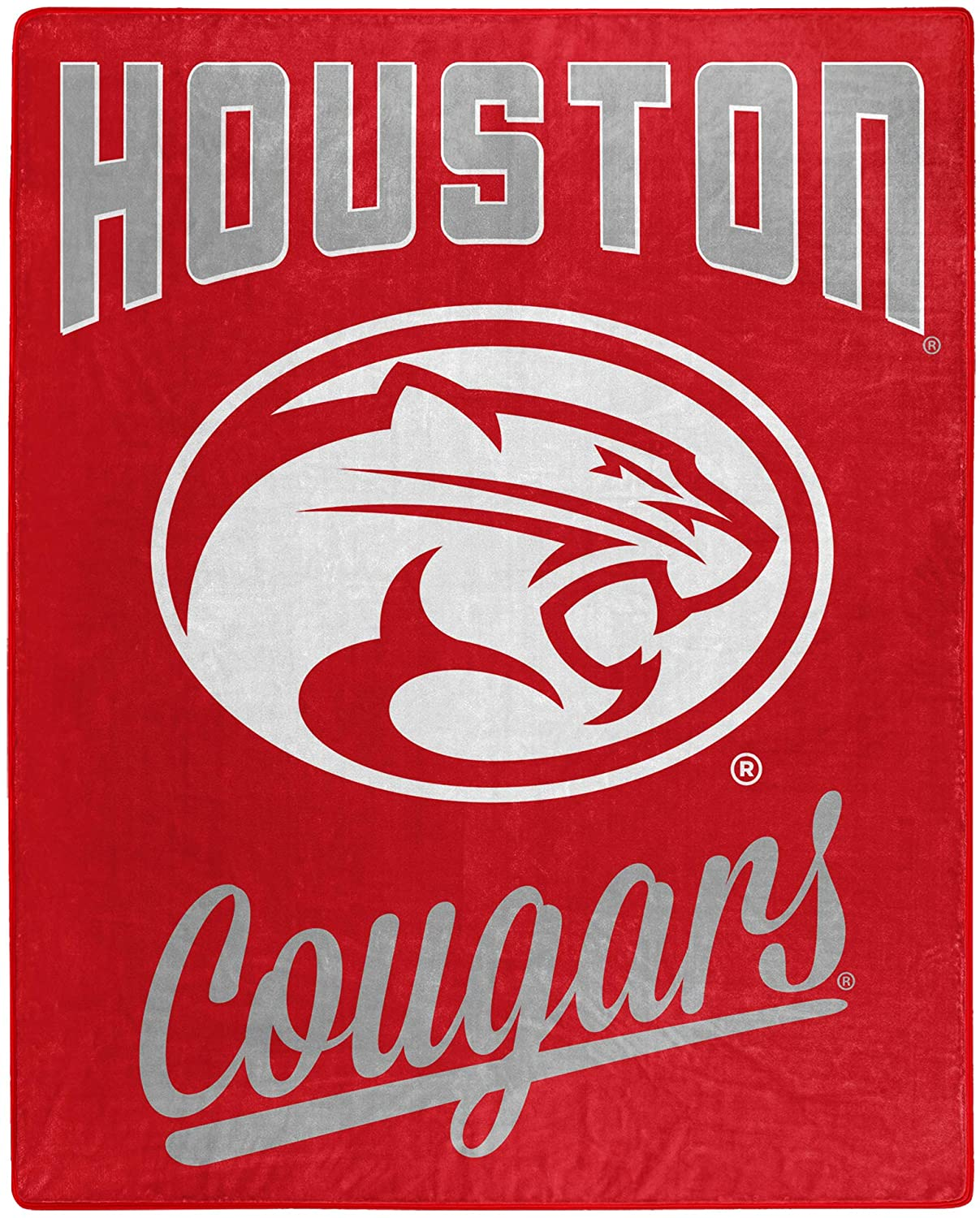 Printed Throw Houston Cougars Fleece Blanket