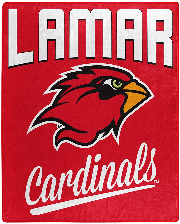 Printed Throw Lamar Cardinals Fleece Blanket