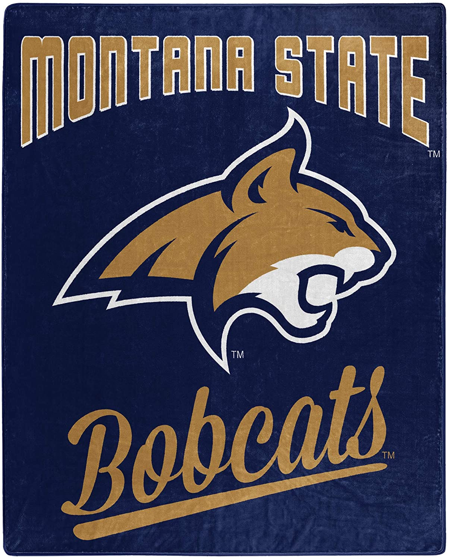Printed Throw Montana State Bobcats Fleece Blanket