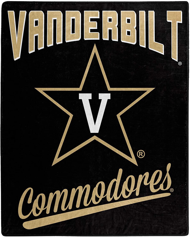 Printed Throw Vanderbilt Commodores Fleece Blanket