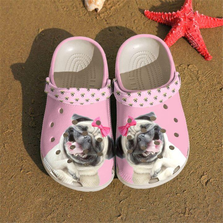 Pug Funny Crocs Clog Shoes