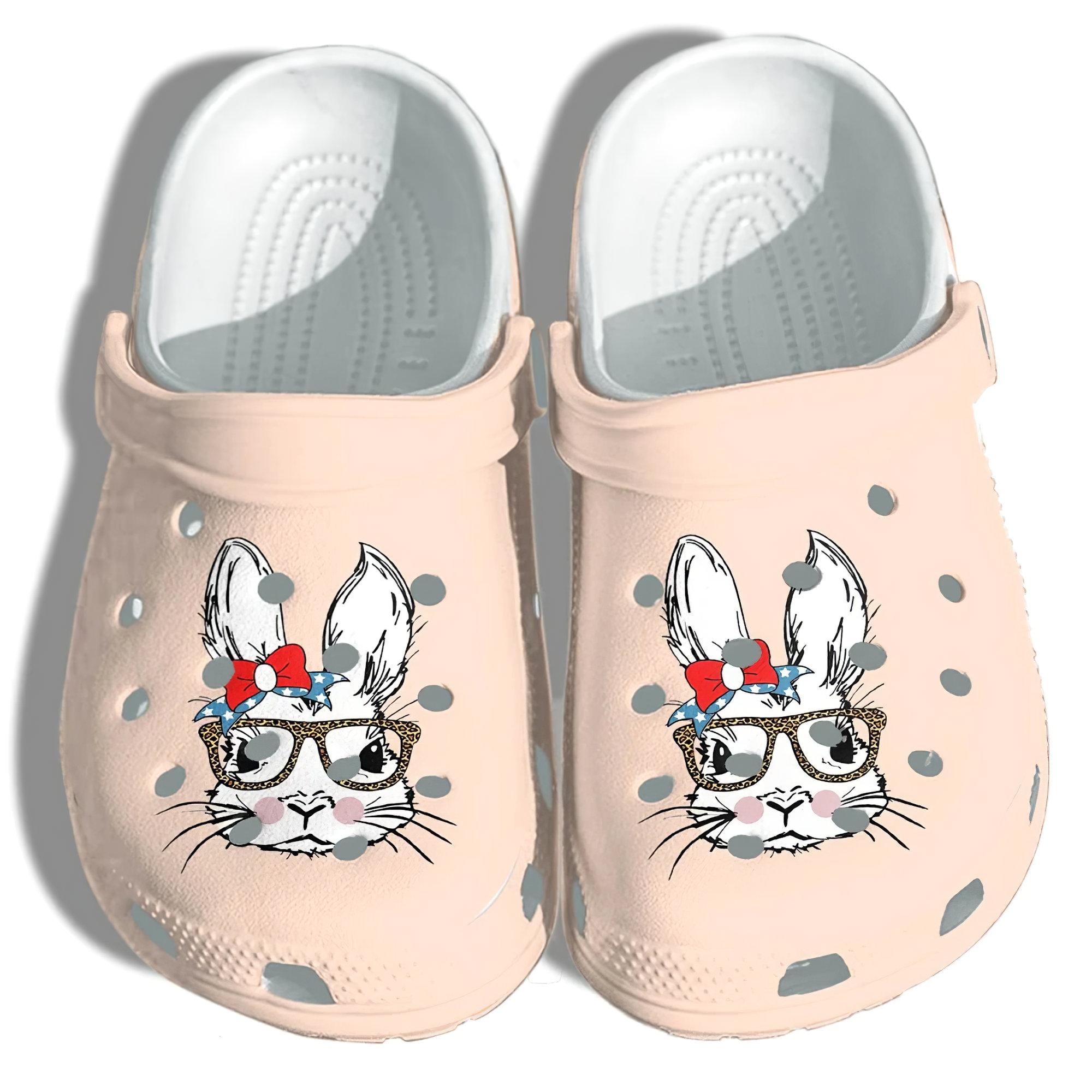 Rabbit Bunny Crocs Clog Shoes