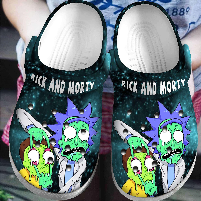 Rick And Morty Crocband Crocs Clog Shoes