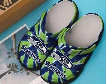 Seattle Seahawks Crocs Clog Shoes