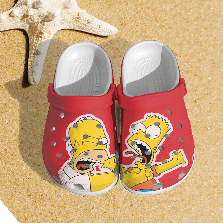 Simpson Crocs Clog Shoes