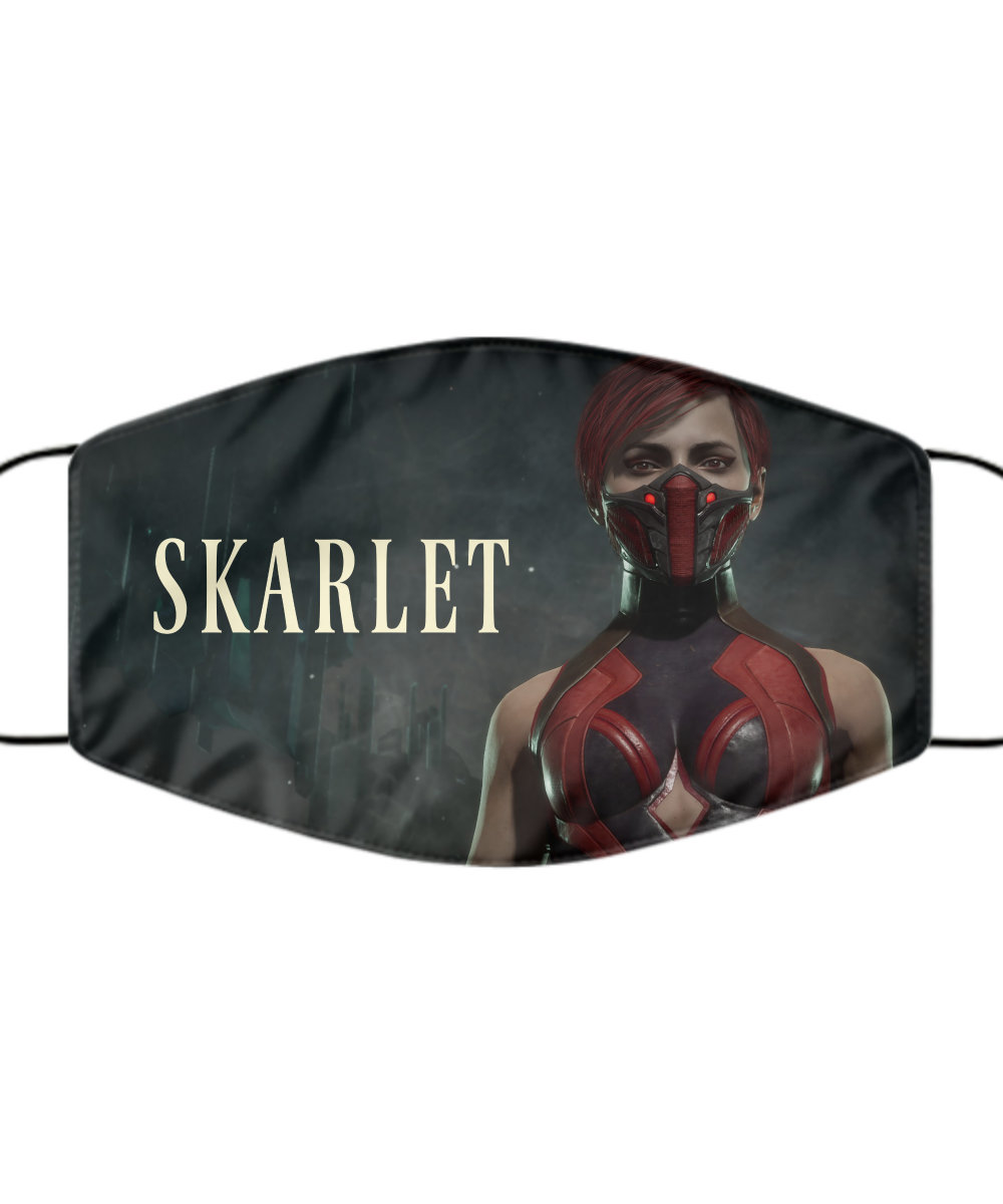 Skarlet Mortal Kombat Face Mask