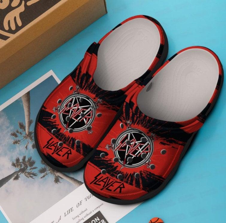 Slayer Crocs Clog Shoes