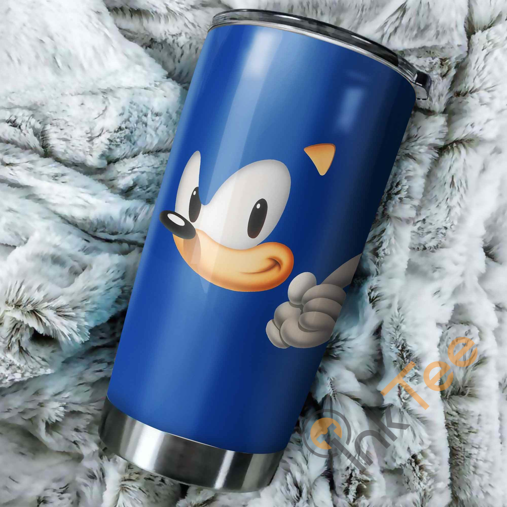 Sonic The Hedgehog Head Perfect Gift Stainless Steel Tumbler