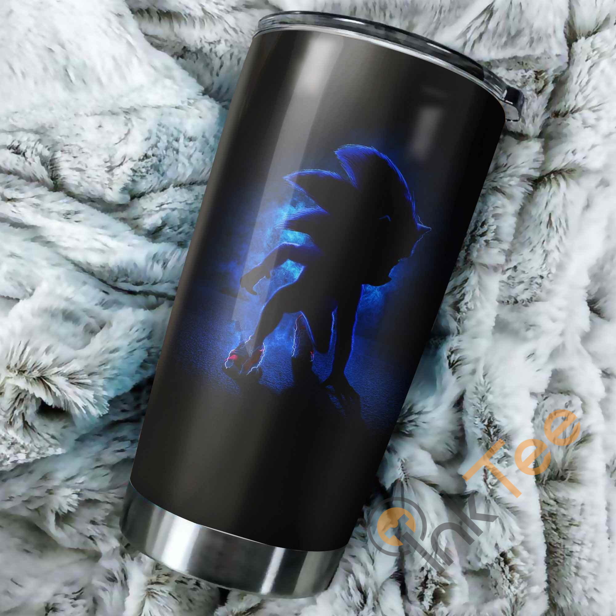 Sonic The Hedgehog Shadow Perfect Gift Stainless Steel Tumbler