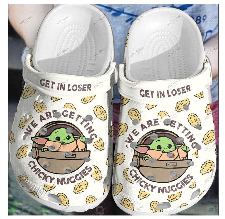 Special Yoda Chicky Nuggies Crocs Clog Shoes