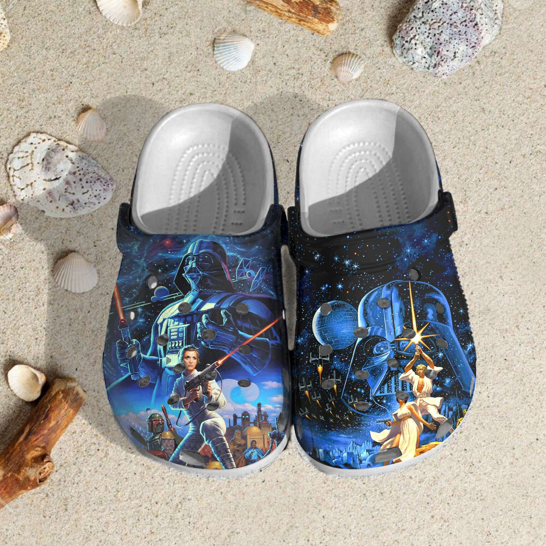 Star Wars Bad Bunny Crocs Clog Shoes