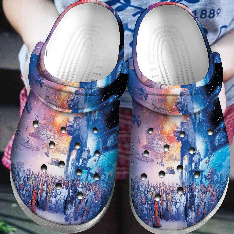 Star Wars Crocband Crocs Clog Shoes