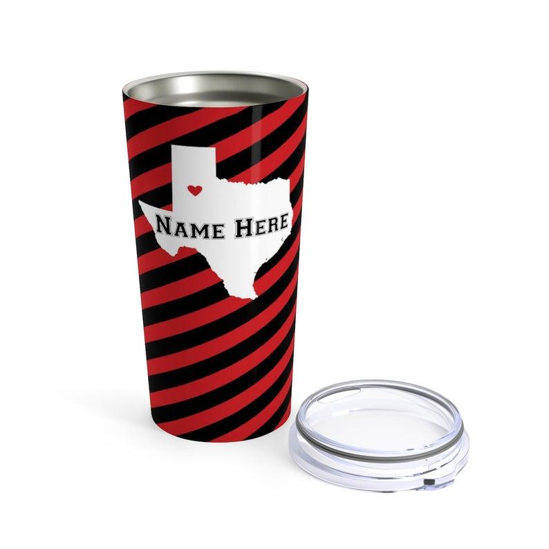State Pride Series Lubbock Texas Stainless Steel Tumbler