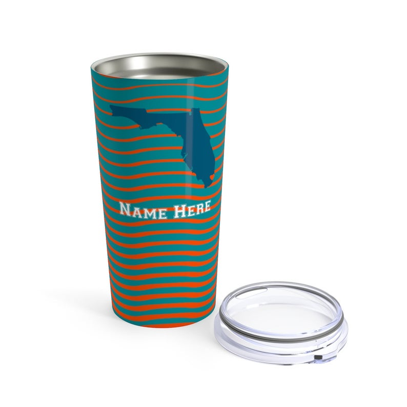 State Pride Series Miami Florida Stainless Steel Tumbler