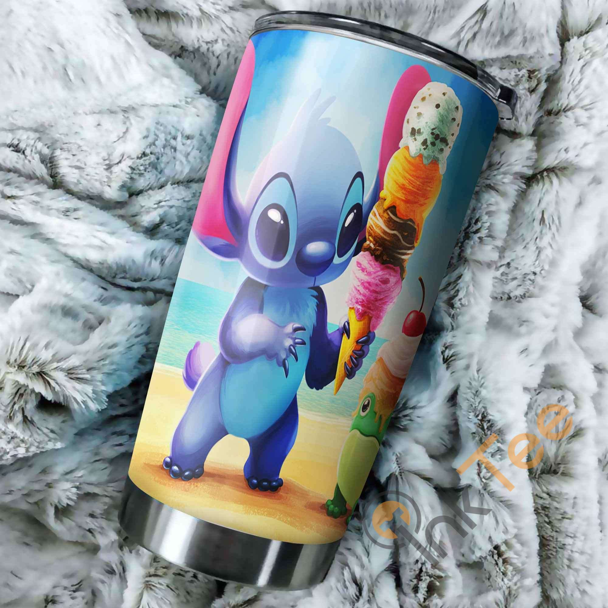 Stitch Ice Cream Perfect Gift Stainless Steel Tumbler