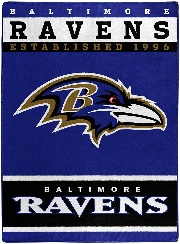 The Officially Licensed Nfl Throw Baltimore Ravens Fleece Blanket