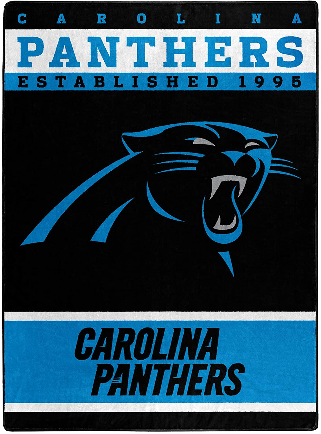The Officially Licensed Nfl Throw Carolina Panthers Fleece Blanket