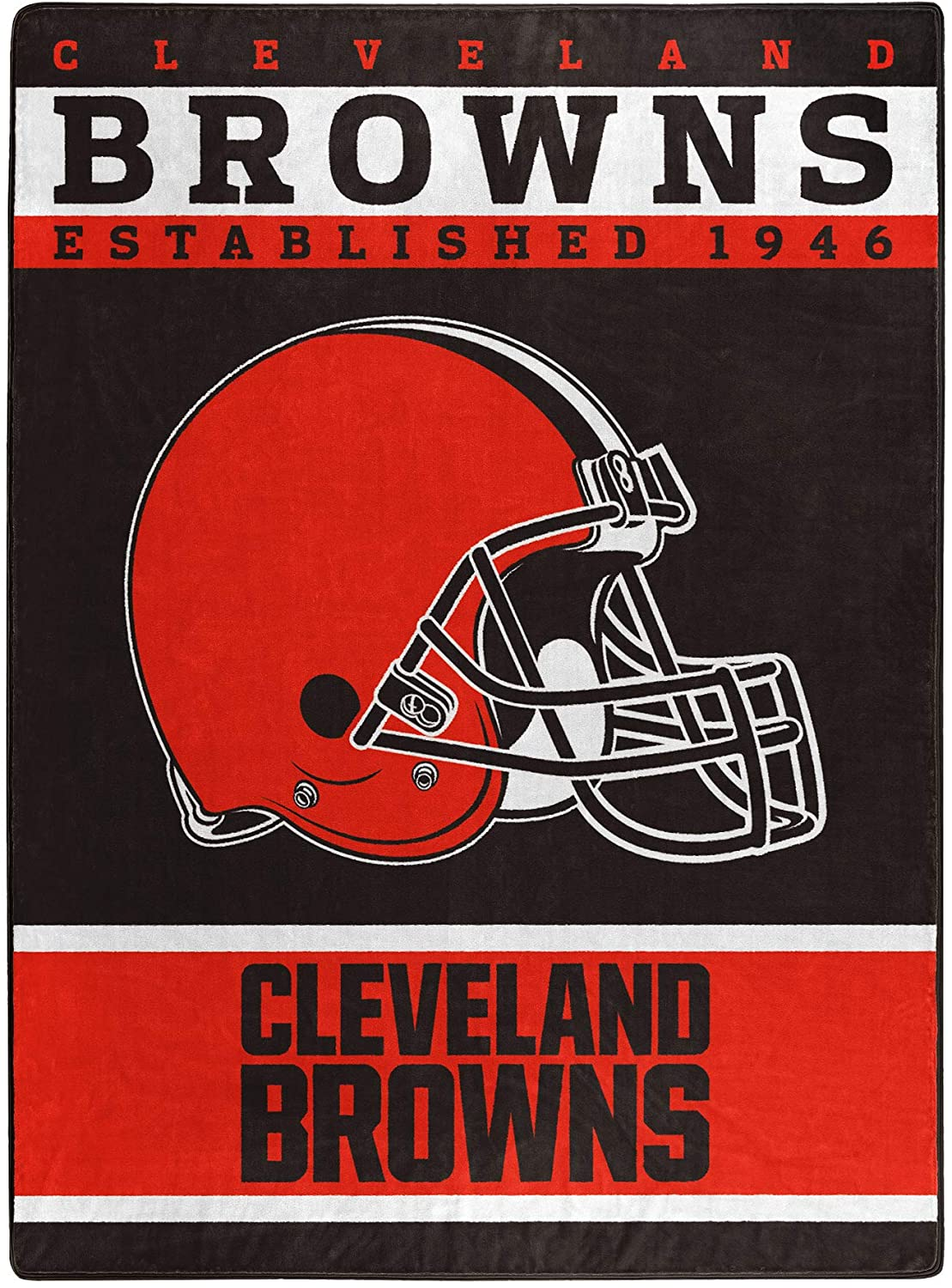 The Officially Licensed Nfl Throw Cleveland Browns Fleece Blanket