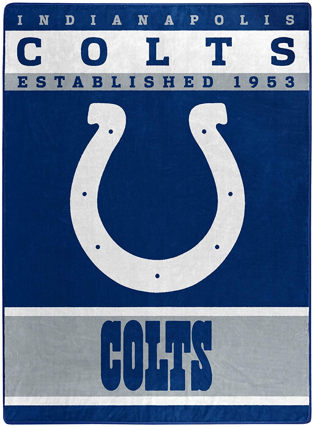 The Officially Licensed Nfl Throw Indianapolis Colts Fleece Blanket
