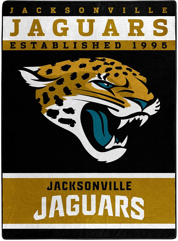The Officially Licensed Nfl Throw Jacksonville Jaguars Fleece Blanket
