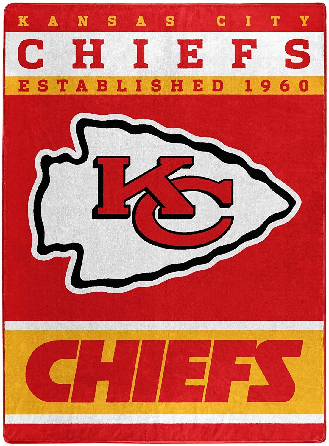 The Officially Licensed Nfl Throw Kansas City Chiefs Fleece Blanket